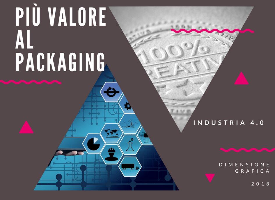 Abbiamo aggiunto vero valore al packaging dei nostri clienti  Grazie alle tecnologie dell'industria 4.0